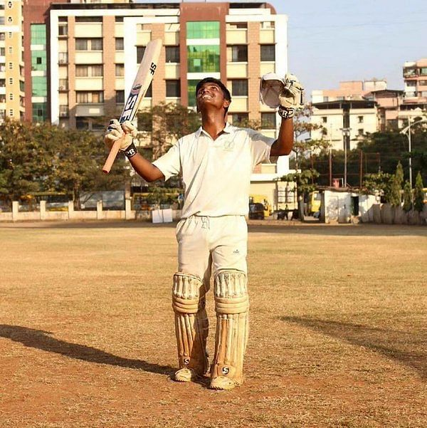 1000 runs mumbai boy
