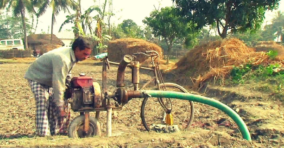 This Low-Cost, Lightweight Pump-On-Wheels is a Huge Boon for Farmers