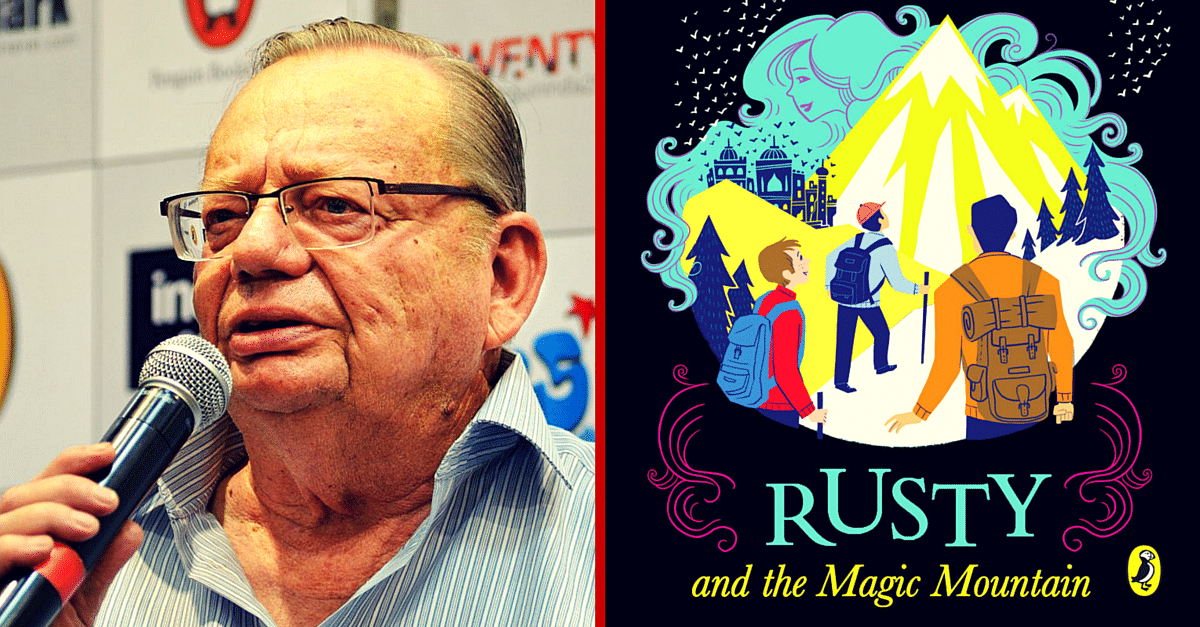 Ruskin Bond Brings Back Rusty. After More than a Decade.