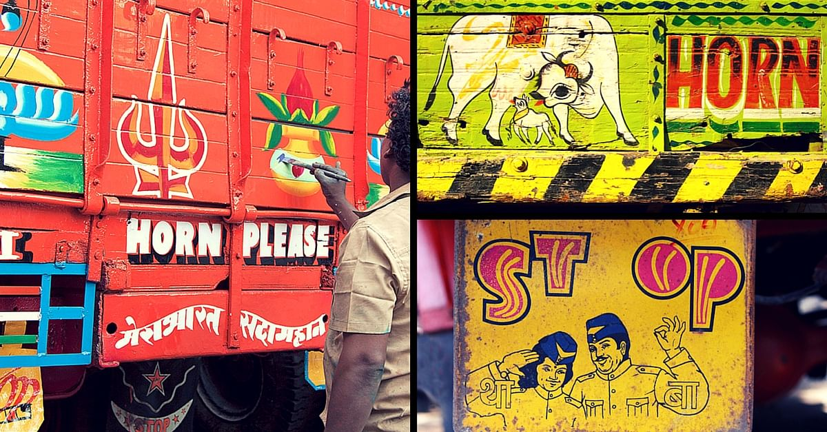 In Pictures: The Colourful and Magnificent Truck Art of India
