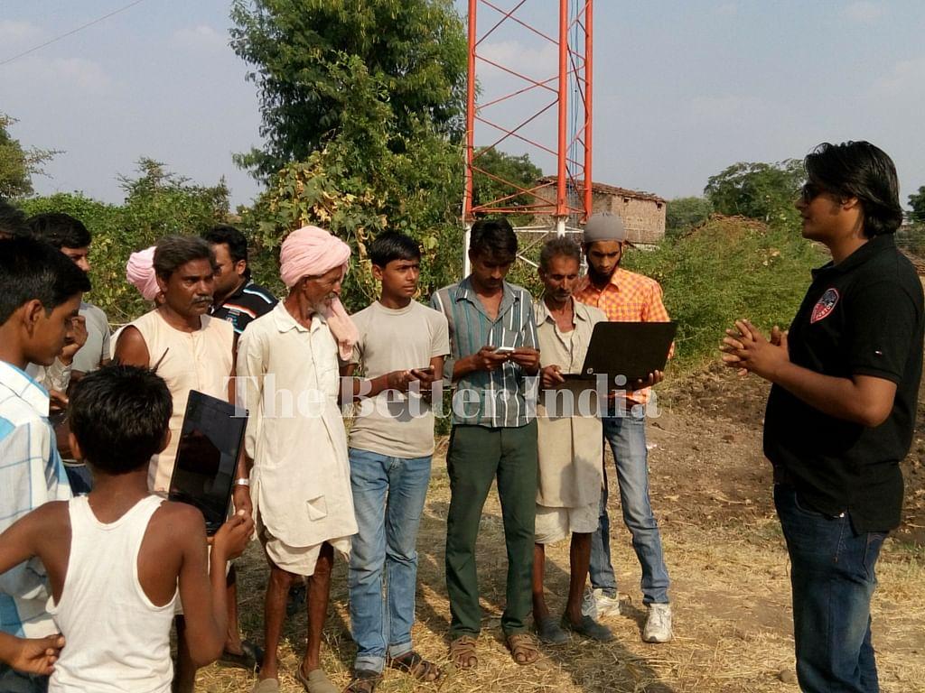 wifi village india