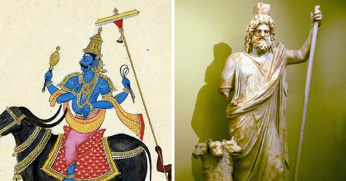 hindu greek mythology