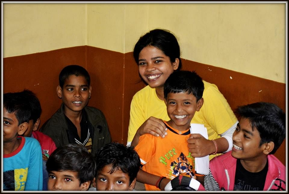 Pallavi Roy,one of the key volunteer members involved in the process