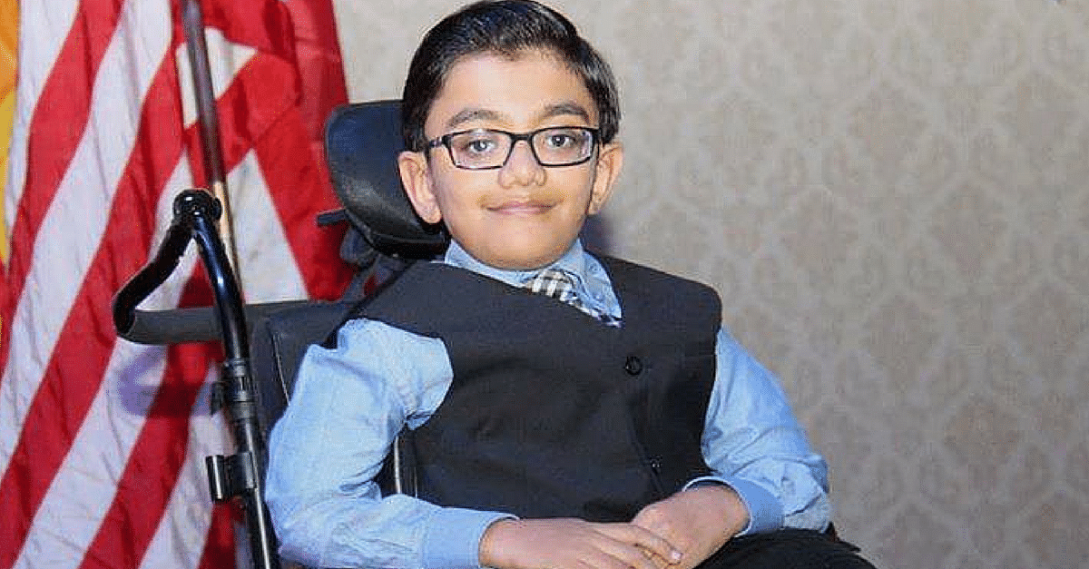 This 12-Year-Old Singing Prodigy Was Born with 40 Fractures. But That Did Not Break His Spirit.