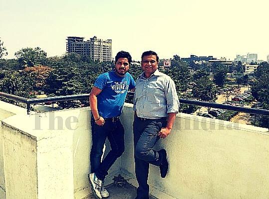 (Left to right) Homedrift founders Vishal and Niranjan