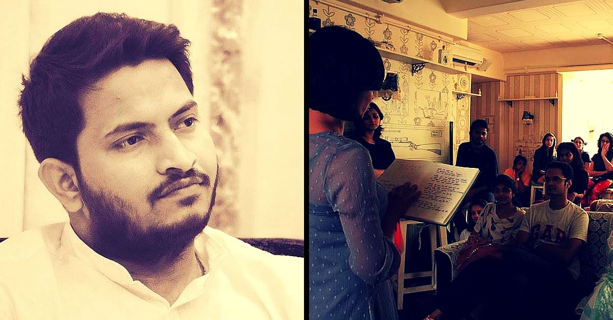 For the Love of Poetry: Meet the Man Who Left His Lucrative Career to Start a Poetry Movement