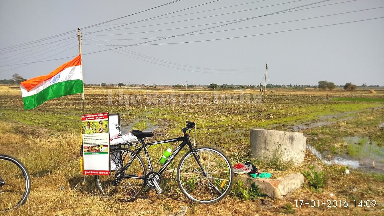 I Cycled 1,000 Km and Got to Experience Farming In Telangana