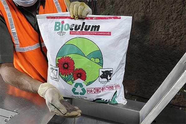 Bioculum, a mixture of micro organism cultures