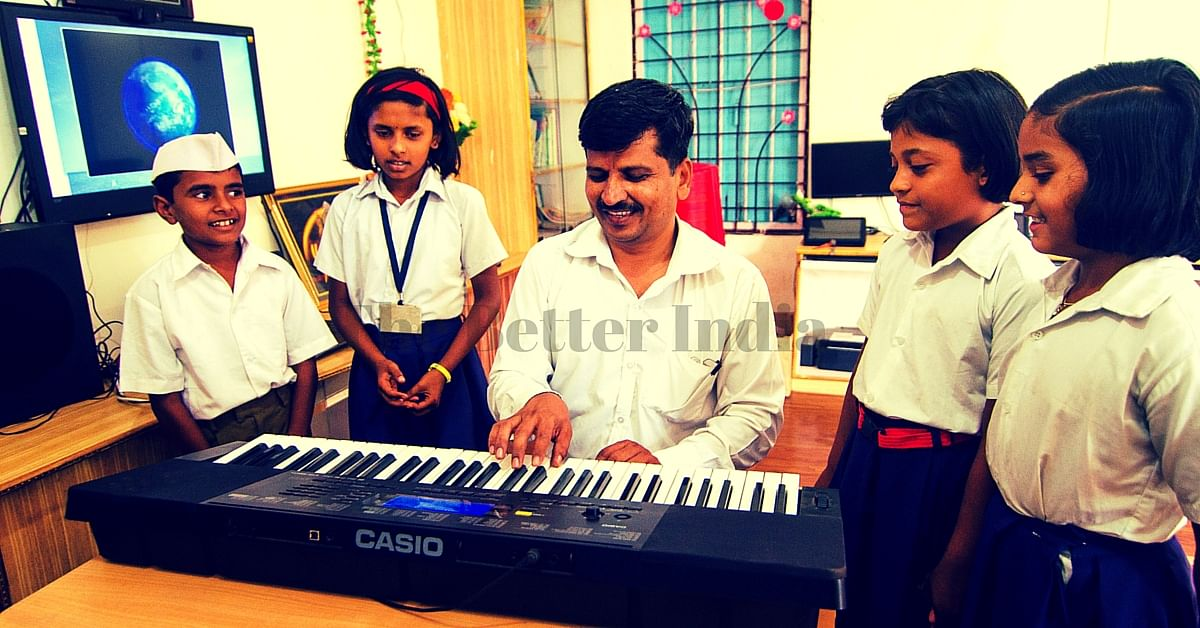 AC Classrooms, Solar Power, Tablets for All Students – Welcome to a Municipal School in Maharashtra