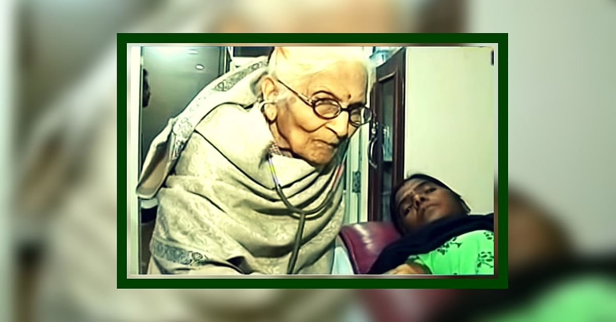 91 Years Old and First Female MBBS from Indore, She's Been Treating Patients for Free Since 1948!
