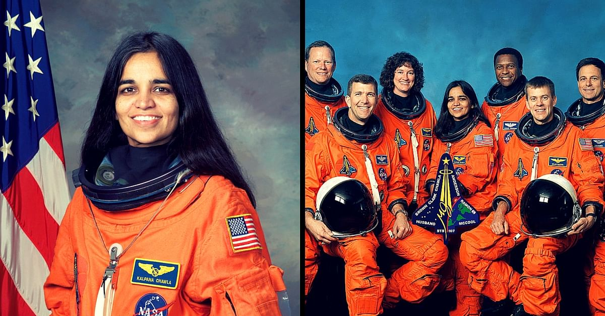 first indian origin woman astronaut in space - photo #9
