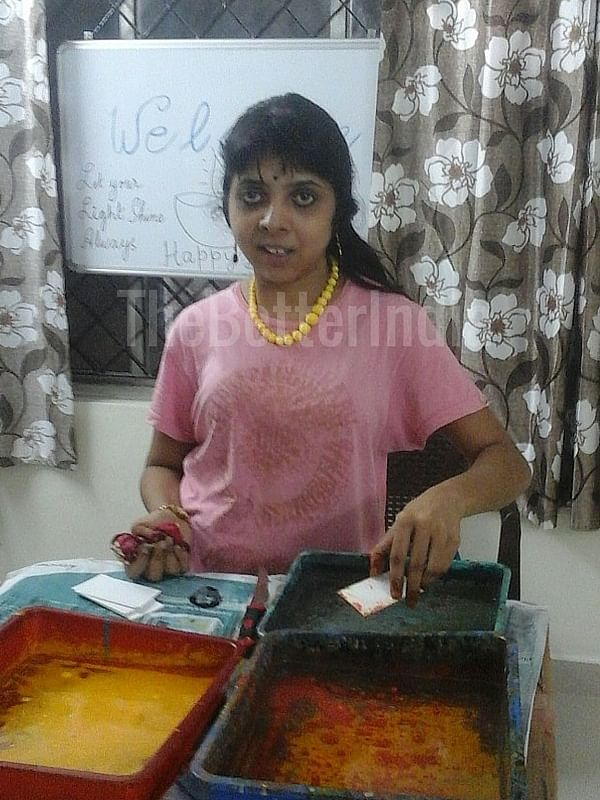 Cancer didn't stop Priya from continuing with her vocational skills