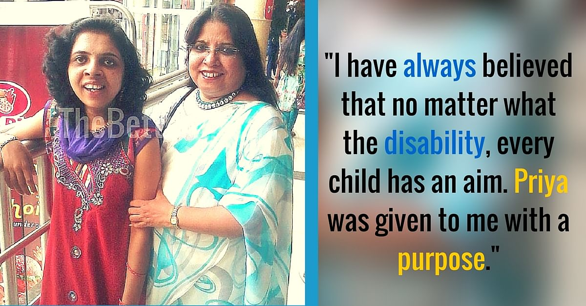 When Her Daughter Was Diagnosed with Cerebral Palsy, Maria Did Not Lose Hope. She Did This Instead.
