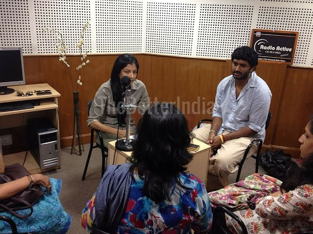 A Radio Active programme in action - on animal rights
