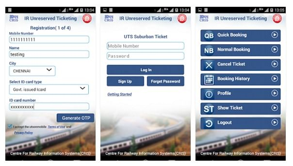 Top 5 irctc android apps to track pnr, book tickets and more.