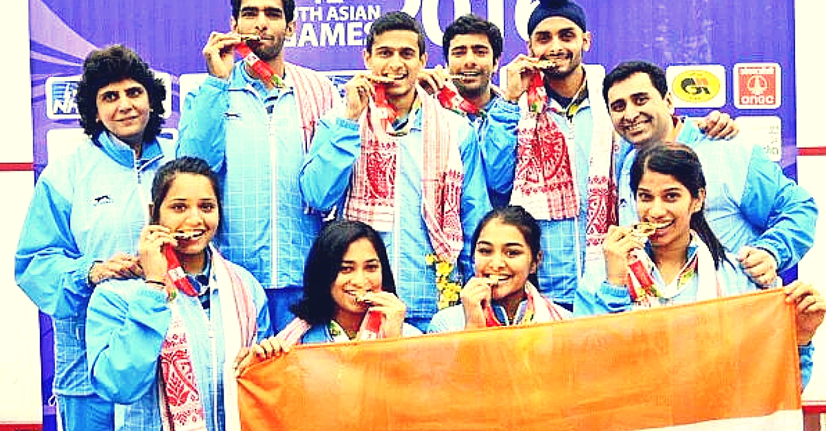 With Record-Breaking 308 Medals, India Crowned Overall Champions of South Asian Games 2016