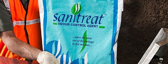 Sanitreat the odour control agent