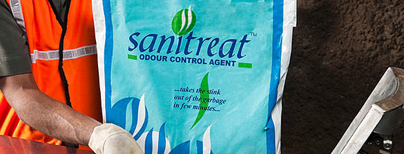 Sanitreat the odour control agent
