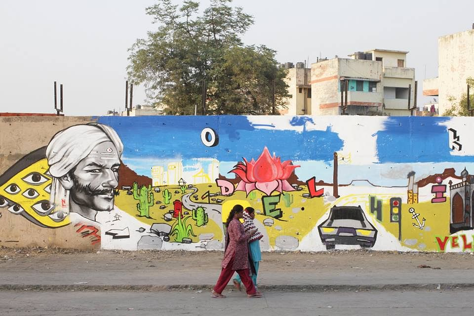 Lodhi Colony In Delhi India S First Open Air Public Art District