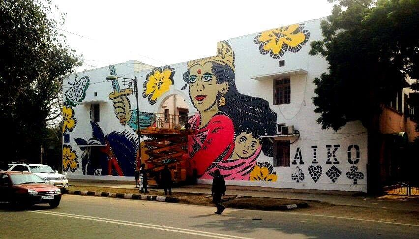 Lady Aiko's rendition of Rani Lakshmibai