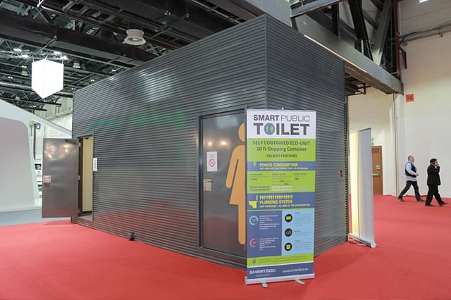 Smart 'Plug & Play' Toilet Units Are Hygienic, Self Contained and 'Green'