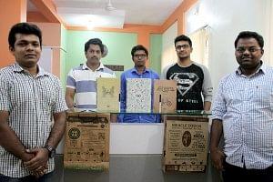 Sandeep, Vinod, Manjunath, Nitin and Chandan.