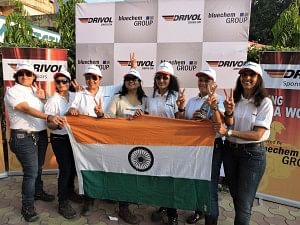 Seven daring women undertook a tough expedition to Mana Pass on the Indo-China border in Uttarakhand.