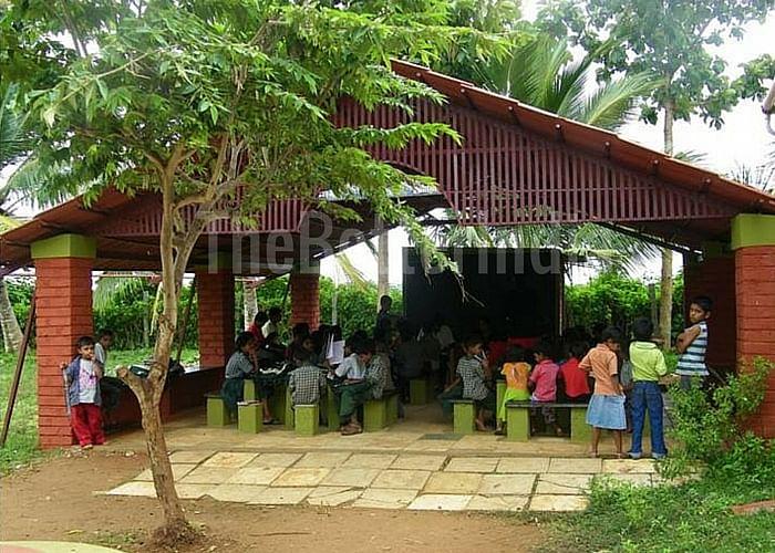 Open learning area