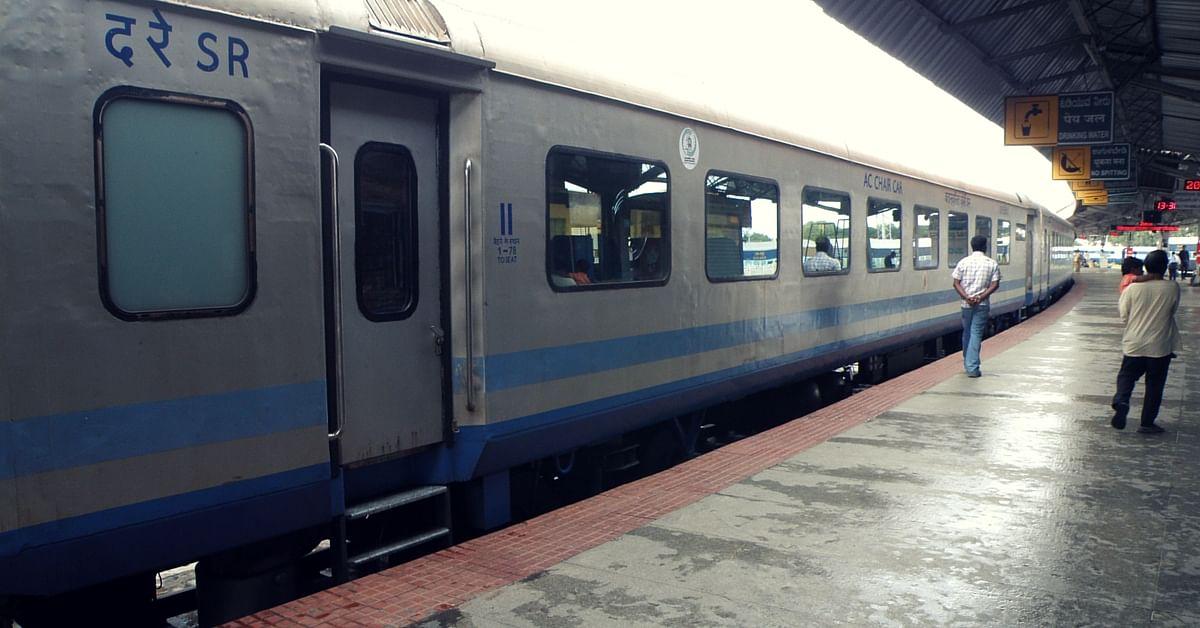 Mysore Shatabdi Indian Railways