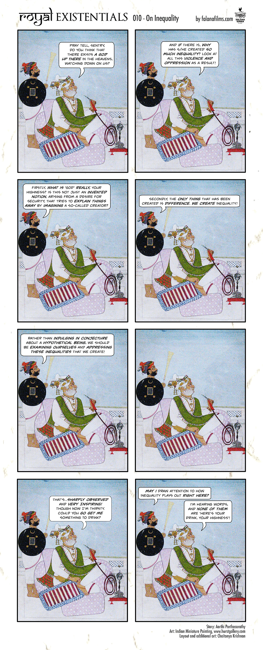 Royal existentialists