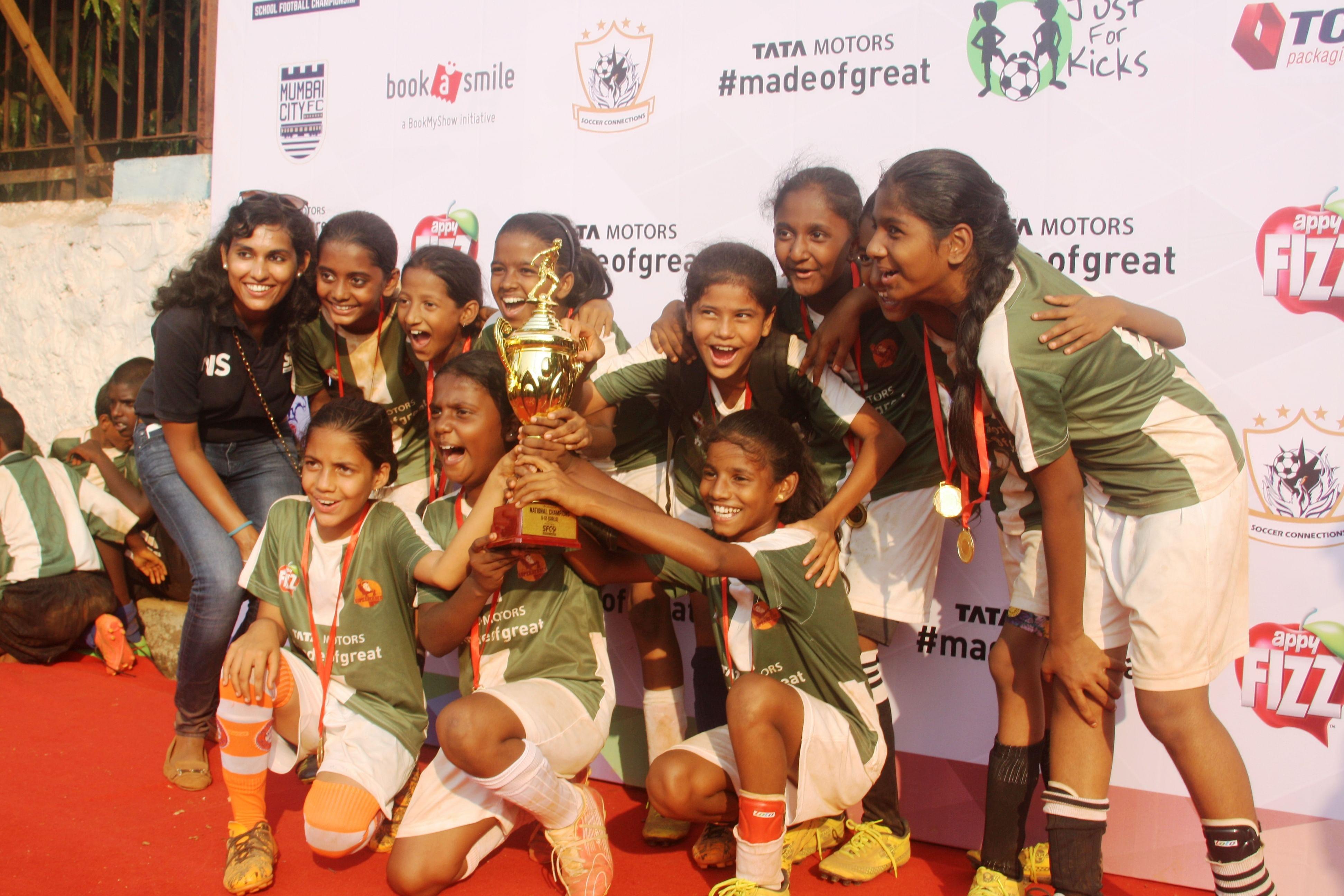 Shindewadi U12 Girls_SFC Champions