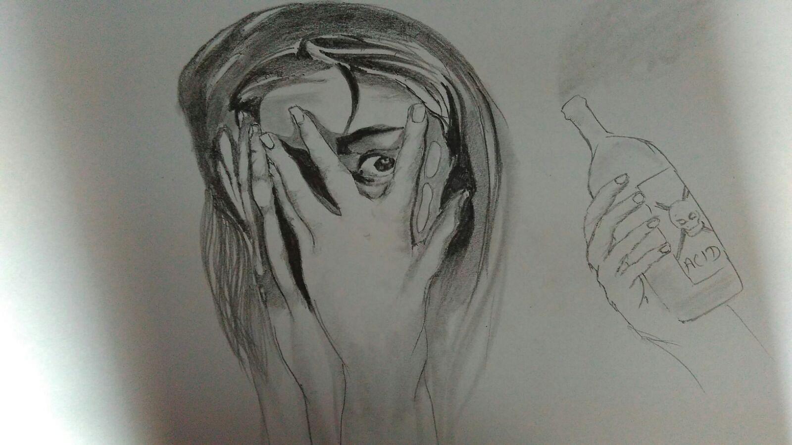 Sketch by Pankaj Sharma