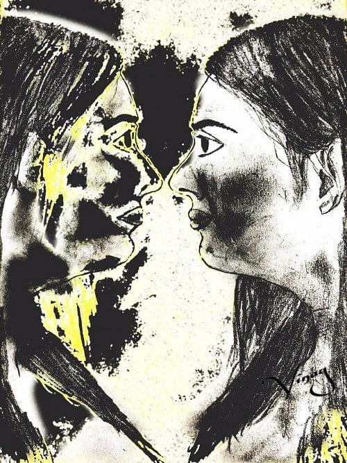 Sketch by Vinay Dagar