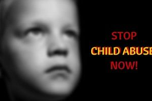 Stop child abuse now!