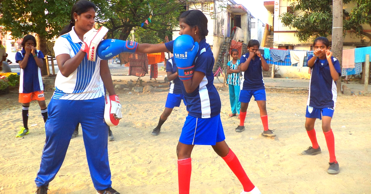 These 35 Girls Share One Pair of Boxing Gloves, But They're Sure Of Reaching the Olympics Someday