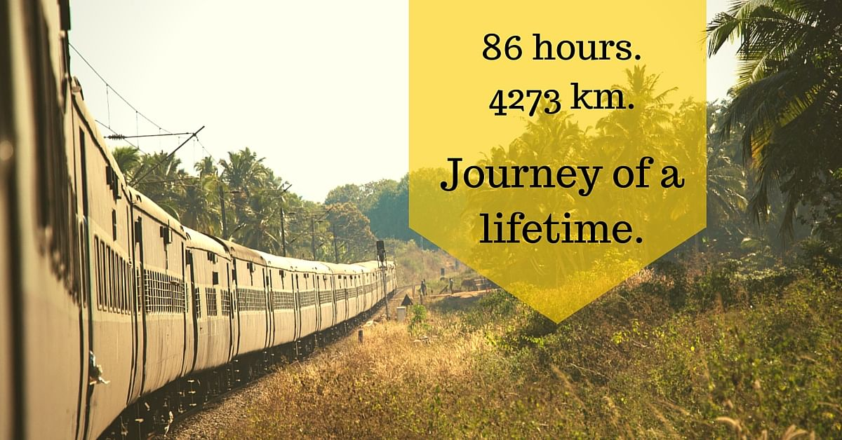 15 Brilliant Pictures of India's Longest Train Ride – from Assam to Tamil Nadu