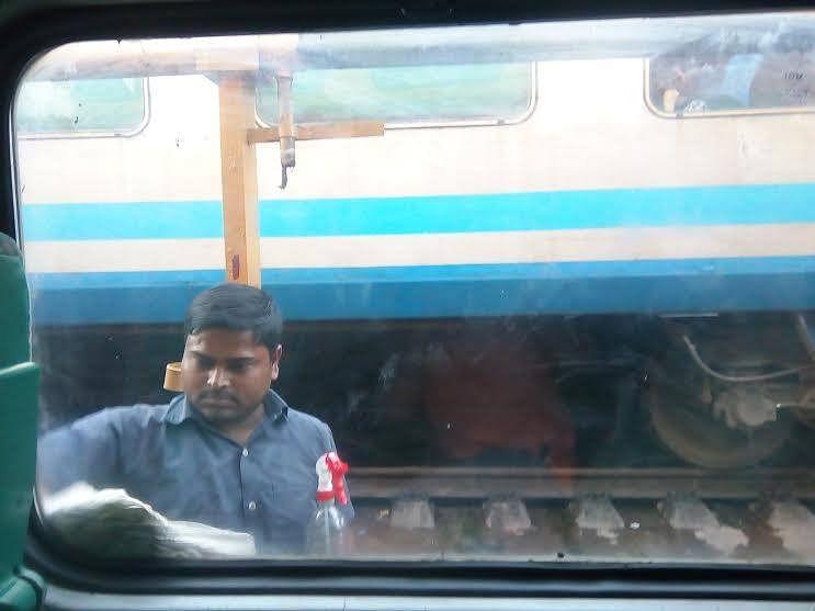 At Surat Station