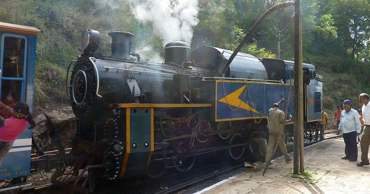 Steam engine Indian railways