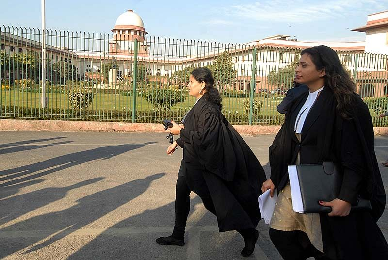 Supreme Court in New Delhi on 02/02/2012 (Photo By Tribhuvan Tiwari/Outlook)