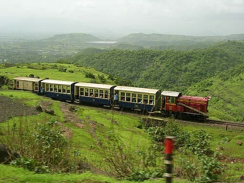 Toy train from Neral to Matheran