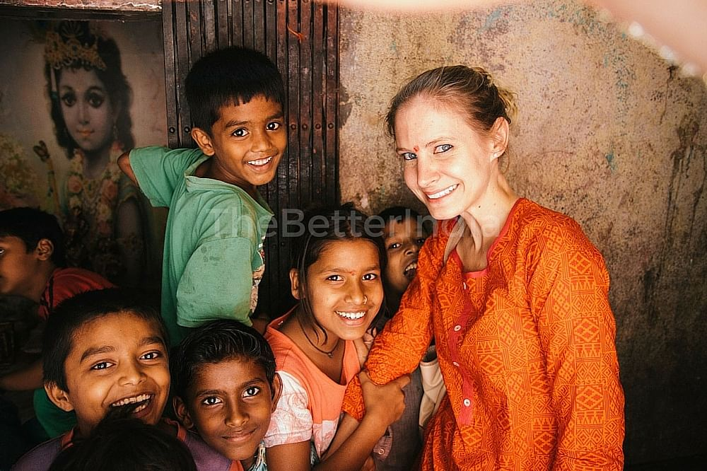 This American is Helping Street Children in Pune Stand on Their Feet