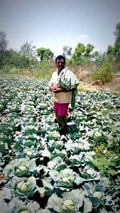 Basavalingappa, a happy beneficiary of GreenAgtech