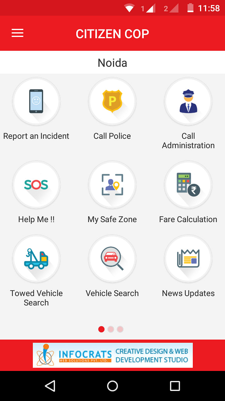 CitizenCOP Deshboard