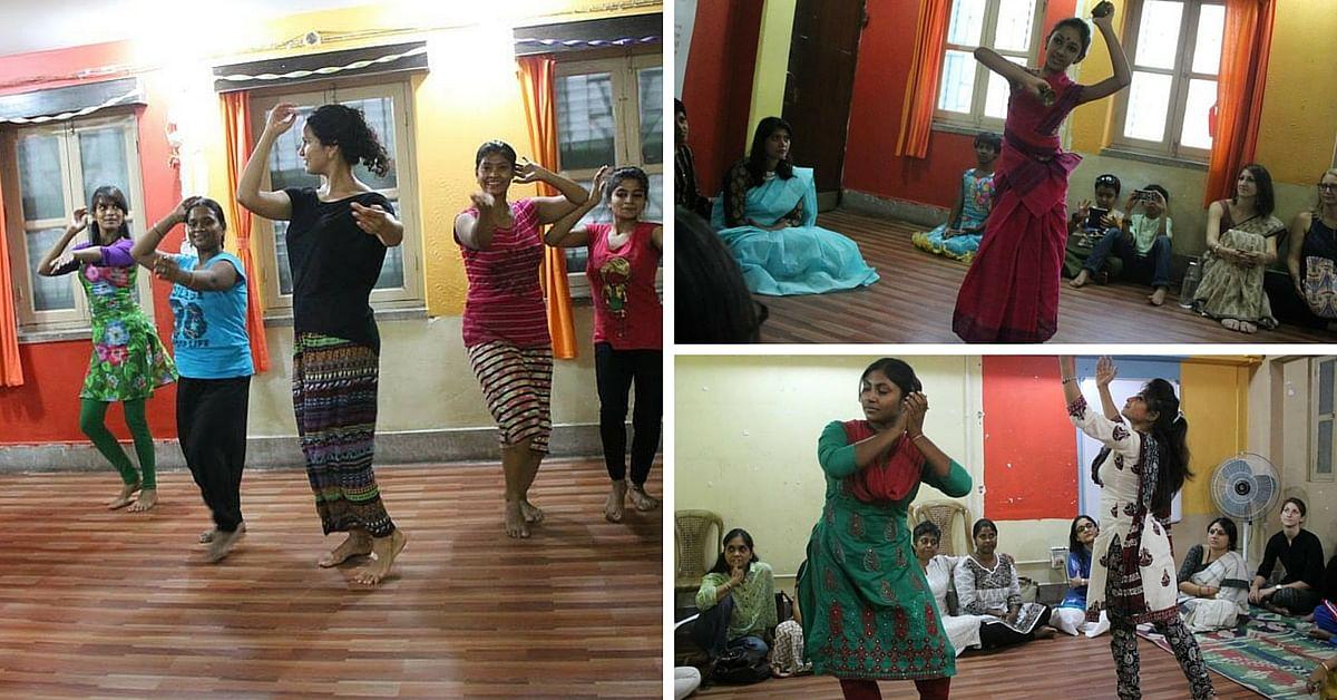 Dance volunteering at Kolkata Sa, Kolkata
