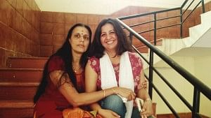 Suja and Malini mothers of adopted daughters