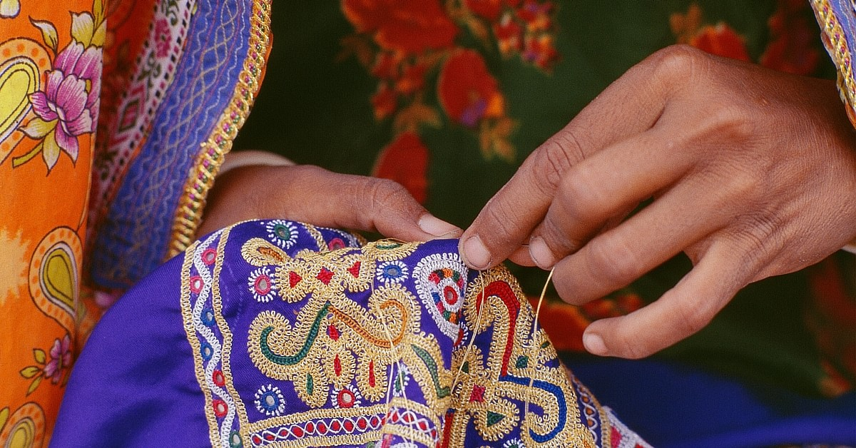 Changing the Lives of Women in Kutch, One Stitch at a Time