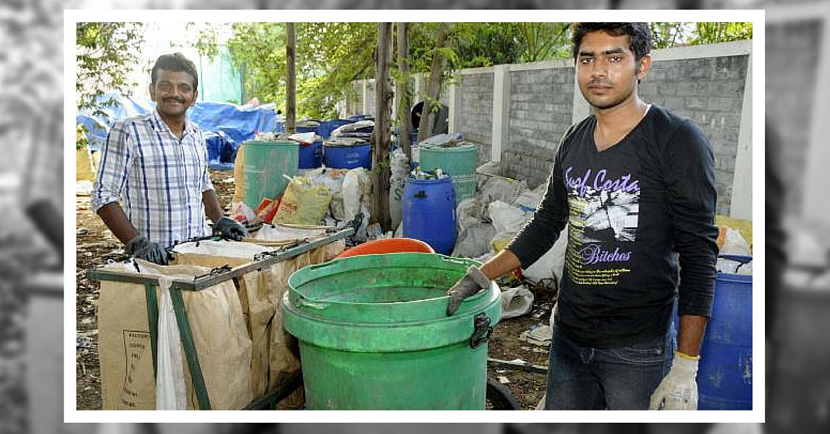 How Two Youngsters in Coimbatore are Ensuring the City Becomes Waste Free
