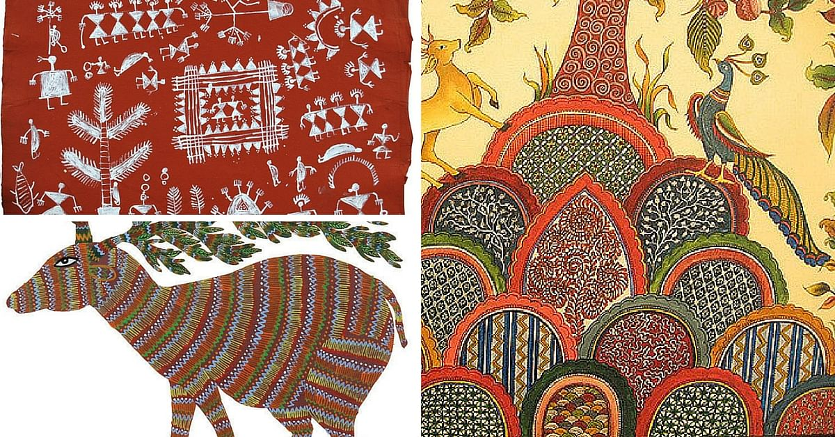 art form of india 2 Indian Folk Art Forms That Have Survived Generations