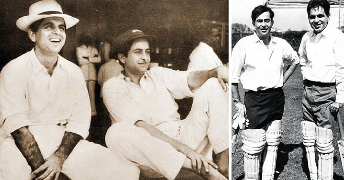 VIDEO: Rare Clip of Raj Kapoor & Dilip Kumar Playing Cricket For Drought Relief in the 1960s