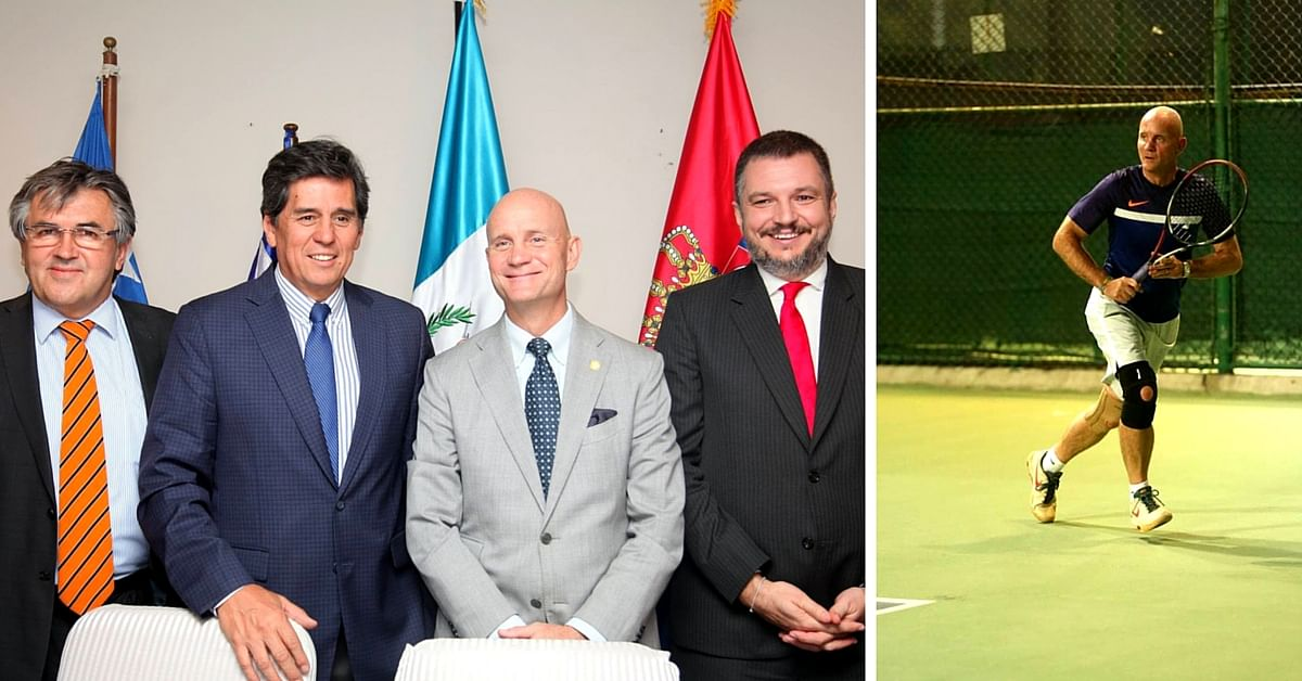 Tennis for Toilets: How 4 Diplomats Raised 25 Lakhs to Build Toilets in India